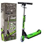 FOLDABLE E-SCOOTER: with collapsible handlebars folds to a compact size for transport and storage REACH FAST SPEEDS OF UP TO 8KM/H: with the powerful 70W belt driven motor (improved 2019 version) RECHARGEABLE HIGH CAPACITY 12 V BATTERY: lets you ride...