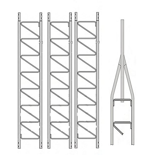 Rohn 25 Series 40' Basic Tower (25G) by Antenna Parts Outlet. Compare B077ZF7V1Q related items.
