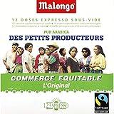 Malongo - Dosettes De Café Pur Arabica, Culture Des Petits Producteurs - 75G - Prix...