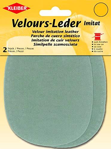 Kleiber Co.GmbH Velour-imitatieleer klein, groen