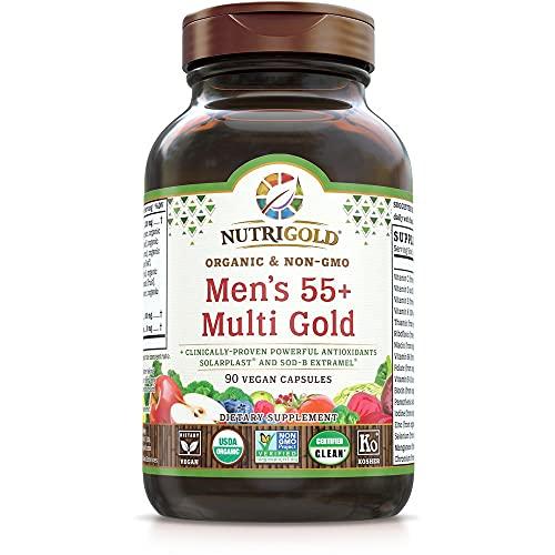NutriGold Men's 55 Plus Multivitamin, 90 CT