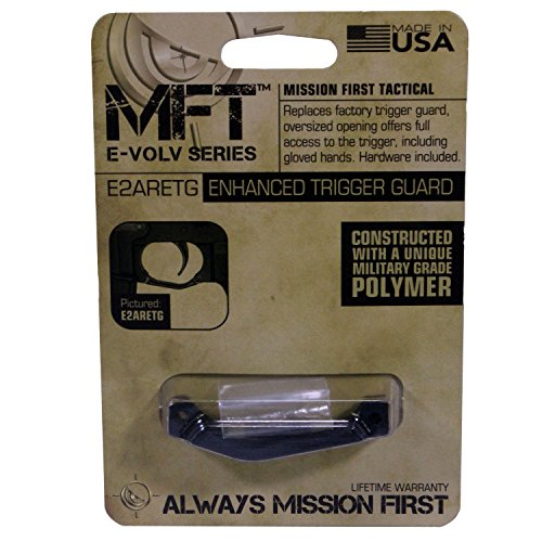 Mission First Tactical Enhanced Trigger Guard, Black