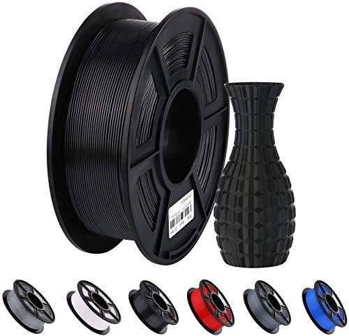 ANYCUBIC PLA Filament 1.75mm Schwarz, 3D Drucker Filament PLA 1kg Spool