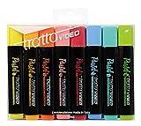 Tratto Video Pastel - Evidenziatori Pastel, Multicolore, 8 Pezzi