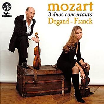 Mozart: 3 Duos for Violin and Viola