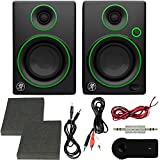 Mackie CR Series CR3-3' Creative Reference Multimedia Monitors (Pair) + Includes Bluetooth 2-in-1...