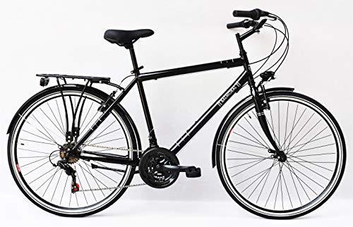 Frank Bikes 28 Zoll Jugend CITYBIKE Fahrrad Herrenfahrrad KINDERFAHRRAD CITYFAHRRAD Balmoral Herren 6 Gang Schwarz