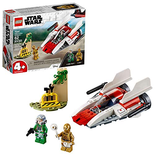 Product Image of the LEGO Star Wars Rebel A-Wing Starfighter 75247 4+ Building Kit (62 Pieces)...