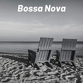 Luxurious Bossa Quintet - Bgm for Vintage Bars