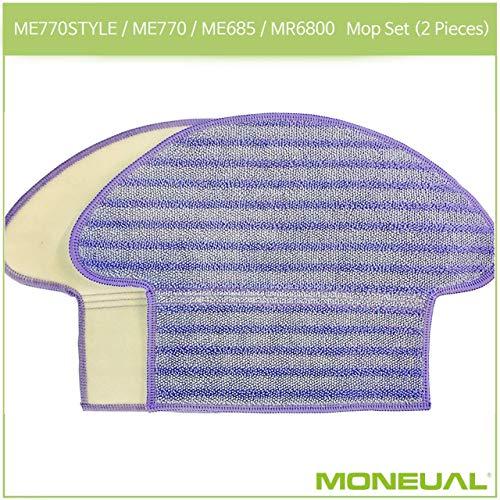 MONEUAL Mopp Set (2 Stück) für ME770STYLE / ME770 / ME685 / MR6800