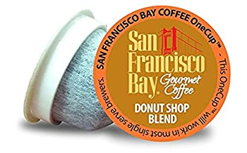 San Francisco Bay Coffee OneCup 72 ct Donut Shop Blend