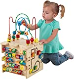 KidKraft Deluxe Activity Cube Multicolor, 13.75' x 11.25' x 21.5'
