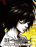 Death Note Coloring Book For Adults