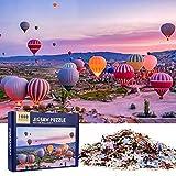 MOOKLIN ROAM Puzzle 1000 Piezas Globo Aerostático, Puzzles Souvenir Regalo para Adolescentes y Adultos