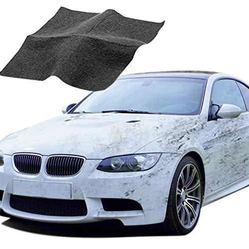 maxineer 2 Stück Nano Magic Tuch Auto Kratzer Reparatur,Politur Auto Kratzer Entferner,Auto Lackstift Lack Reparatur Set,polnisches Lackwiederherstellungstuch für die Autopflege