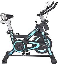 LeeBZ Exercise Bike for Home Cycling Bike Cardio Workout W/Belt Driven Flywheel Cycling Adjustable Handlebars Seat Resista...