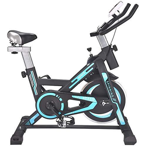 LeeBZ Indoor Cycle Ergometer Heimtrainer Mit LCD Anzeige,Armauflage,gepolsterte,Fitnessbike Speedbike Mit Flüsterleise Riemenantrieb-Fahrrad Ergometer Bis 150Kg