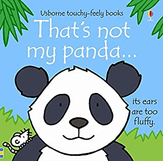 That's Not My Panda. Written by Fiona Watt (Usborne Touchy-Feely Books)
