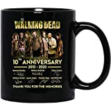 N/ The #Walking #Dead Movie 10th Anniversary 2010-2020 cast Signed Funny Coffee Mug for Women and Men Tea Cups