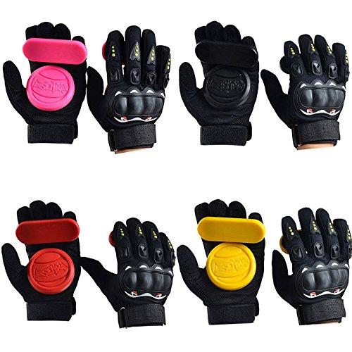 ZENING 1 Paar Drift-Handschuhe, Fahrrad-Handschuhe, strapazierfähiger Schutz, Armschutz, Longboard, Slider, Straßenbremshandschuhe