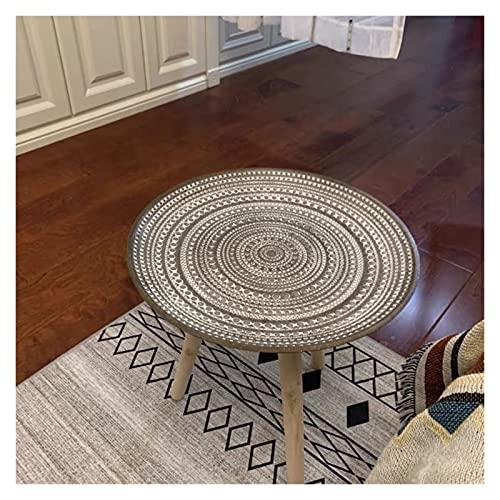 Mesas de café Mesa de centro de mesa redonda de mesa de almacenamiento de té de té de la placa de la placa de la placa de la bandeja de la bandeja de la mesa de la mesa de la mesa de la mesa de la mes