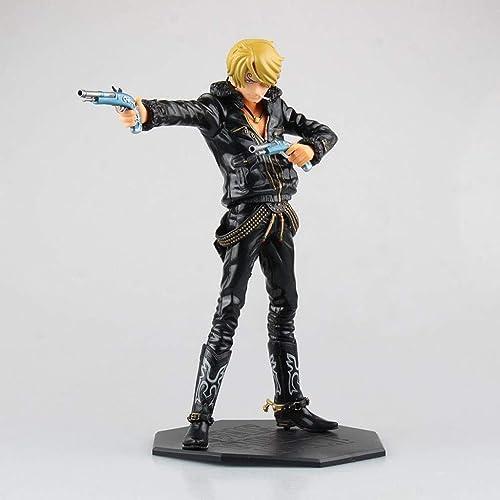 descuento de bajo precio Anime Modelo De Dibujos Animados Estatua negro Doble Doble Doble Juego De Juego De Personajes Personaje De PVC 25 Cm CQOZ  A la venta con descuento del 70%.