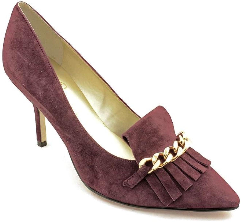 Ivanka Trump Dinah Womens Size 8.5 Purple Suede Pumps Heels shoes