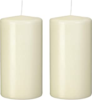 PAPSTAR 15363 Ivory - Velas (80x150mm), Color Marfil