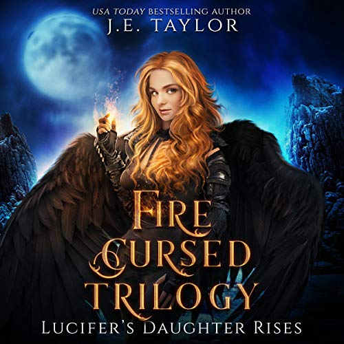 Fire Cursed Trilogy audiobook cover art