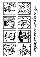 igsticker ポスター ウォールステッカー シール式ステッカー 飾り 841×1189㎜ A0 写真 フォト 壁 インテリア おしゃれ 剥がせる wall sticker poster 010568 キャラクター 黒 人物