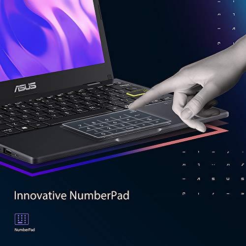 ASUS VivoBook with Microsoft 365 E402YA 14 HD Laptop, AMD E2-7015 Processor, 4 GB RAM, 64 GB eMMC, Windows 10 S, Amazon Exclusive