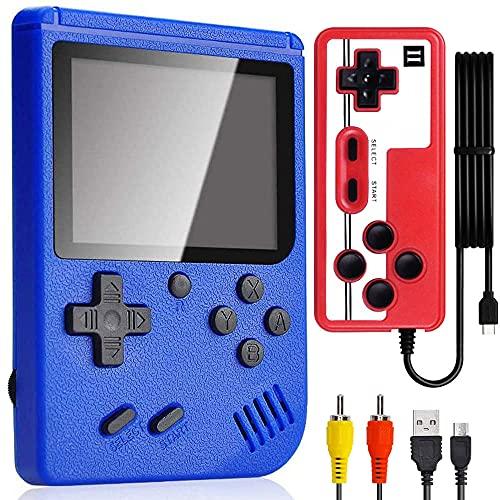 Console di Gioco Portatile,Doppia Retro Console Giochi con Console...