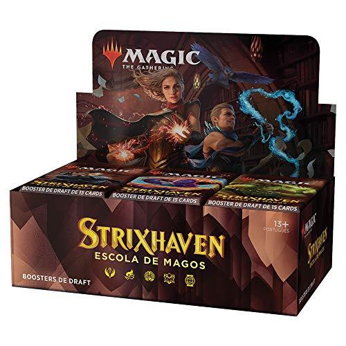 Magic: The Gathering | Strixhaven: Escola de Magos |Pacote de Boosters de Draft | 36 boosters (540 cards) | Português BR