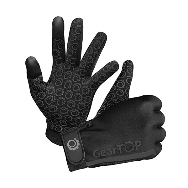 GearTOP Touch Screen Thermal Gloves – Great for Running, Rugby, Football, Hunting,...