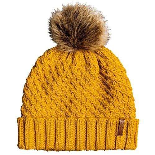 Roxy Damen Bommelmütze, Spruce Yellow, 1SZ, ERJHA03555