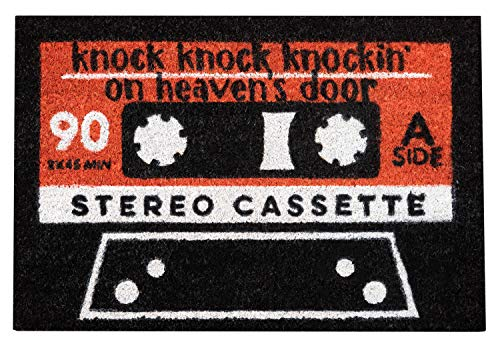 Erik - Felpudo Entrada casa Cassette Welcome, 40x60x2 cm