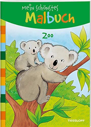 Mein schönstes Malbuch. Zoo: Malen für Kinder ab 5 Jahren (Malbücher und -blöcke)