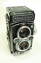 Rollei Rolleiflex 3.5 Camera 75mm Lens Franke Heidecke DBP DGBM Twin Reflex