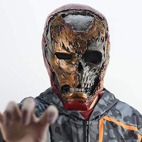 Zombie Iron Man Maske Infinity Gauntlet Cosplay Spider Man weit Weg von zu Hause Superheld Tony Stark Latex Masken Handschuhe Halloween Requisiten