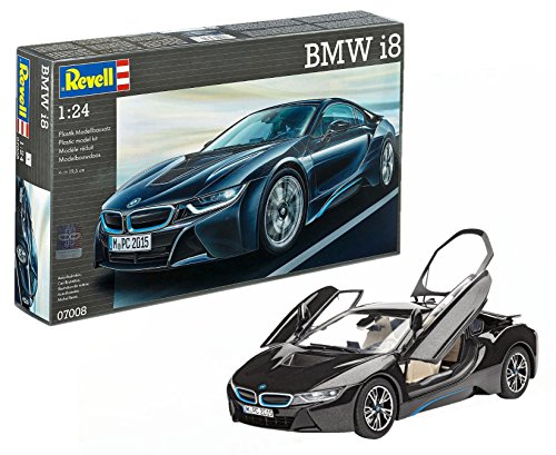 Revell - 07008 - Mbmw I8 - 131 Pièces - Echelle 1/24