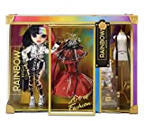 Rainbow High 2021 Collector Doll (11-inch) Jett Dawson with half Black, half Multicolored Rainbow hair, 2 Gorgeous Outfits to Mix & Match & Premium Doll Accessories, Collectible Gifts, Kids 6-12 Years