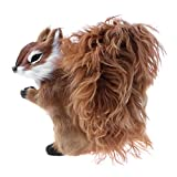 Baoblaze Lifelike Simulation Plush Stuffed Animals Model Figurine Kids Science Nature Toys Home Decoration - Brown Squirrel