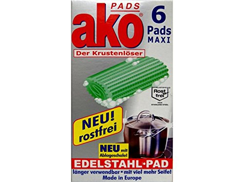 Ako Pads Maxi - Spugna per pulizia domestica 20 pezzi