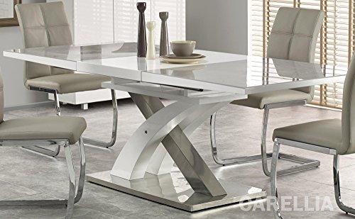 Table A Manger Design RECTANGULAIRE Extensible 160÷220/90/75 CM - Gris
