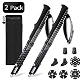NGOZI Walking Poles Folding trekking poles Lightweight Collapsible Aluminum Telescopic Hiking Pole Sticks
