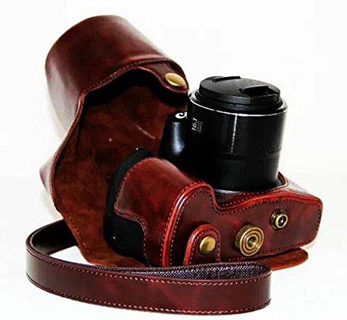 Hihouse - Funda de piel para cámara de fotos Canon SX60 SX60HS