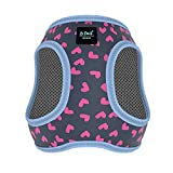 is PET Cute Dog Harness No Pull Adjustable Harness - Soft Mesh Dog
