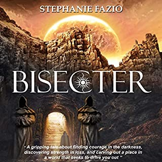 Bisecter     Bisecter Series, Book 1              Written by:                                                                                                                                 Stephanie Fazio                               Narrated by:                                                                                                                                 Whitney Dorr                      Length: 10 hrs and 15 mins     Not rated yet     Overall 0.0