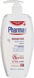 PHARMALINE loción corporal sensitive dosificador 500 ml