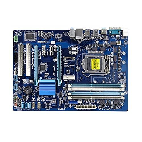 lilili Placa Base Placa Base para computadora Compatible Fit for Gigabyte GA-Z77P-D3 Placa Base de Escritorio Original usada Z77P-D3 Z77 Socket LGA 1155 DDR3
